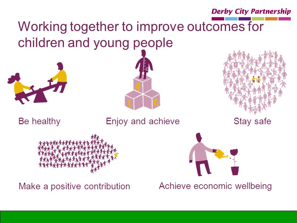 Working together to improve outcomes for children and young people