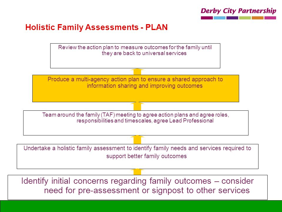 Holistic Family Assessments - PLAN