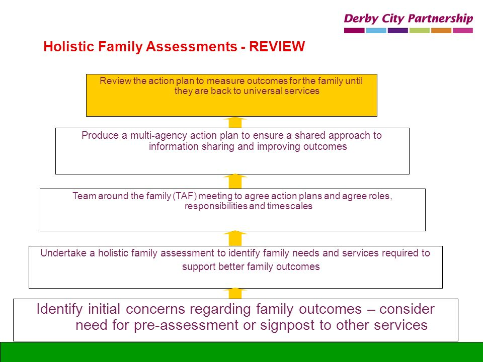 Holistic Family Assessments - REVIEW