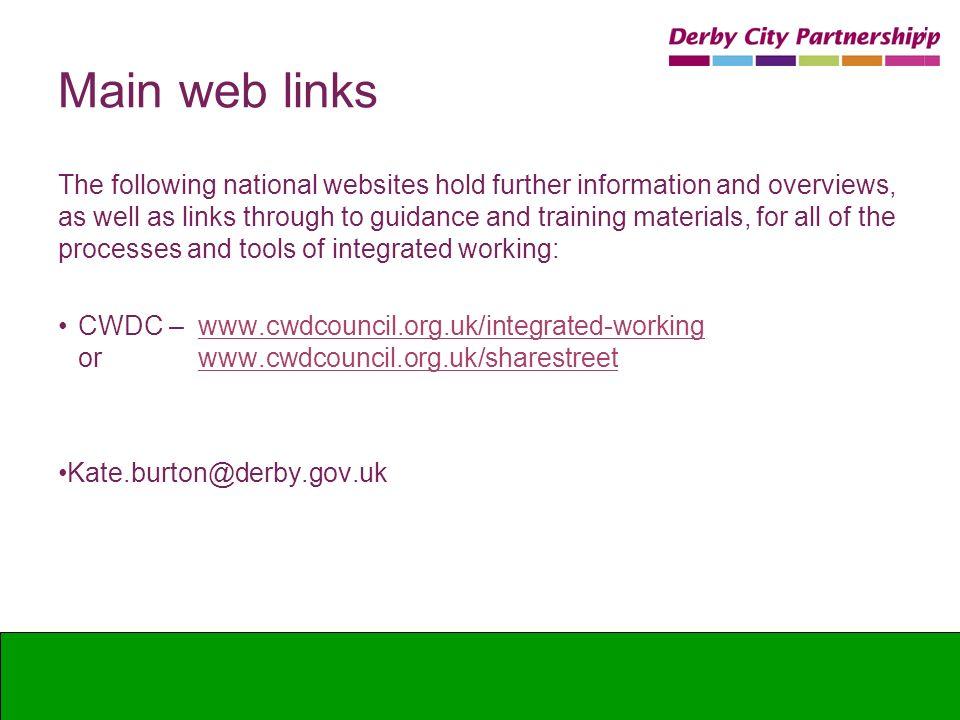 Main web links