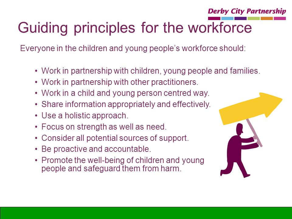 principles of relationship building with children and young people