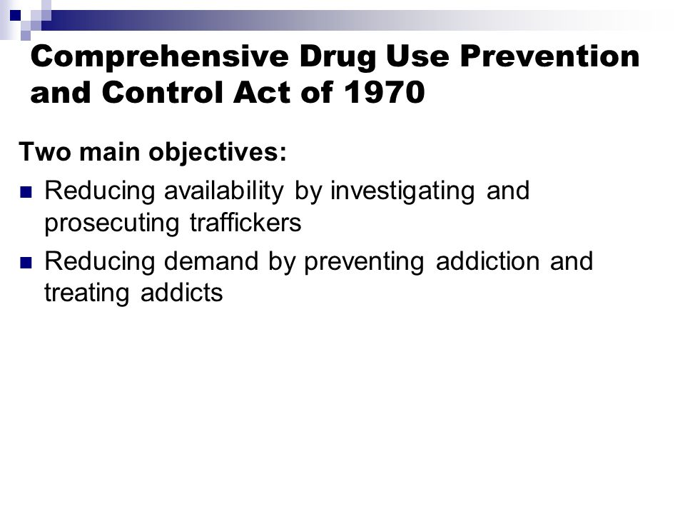 Essay on the Prevention and Control to Drug Addiction