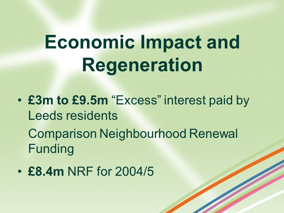 Economic Impact and Regeneration