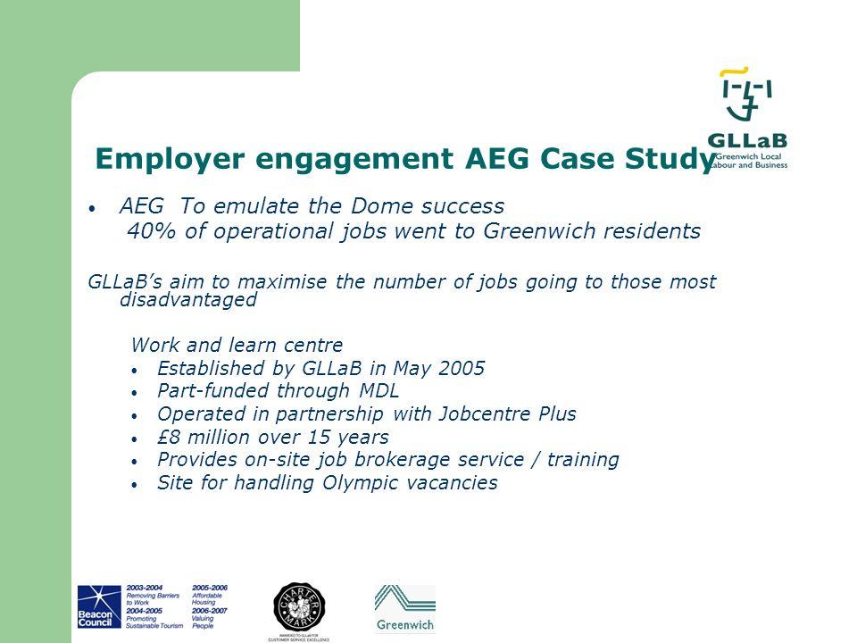 Employer engagement AEG Case Study