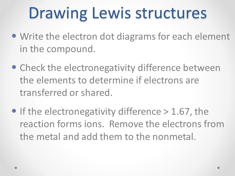 Drawing lewis structures ppt video online download drawing lewis structures ccuart Gallery