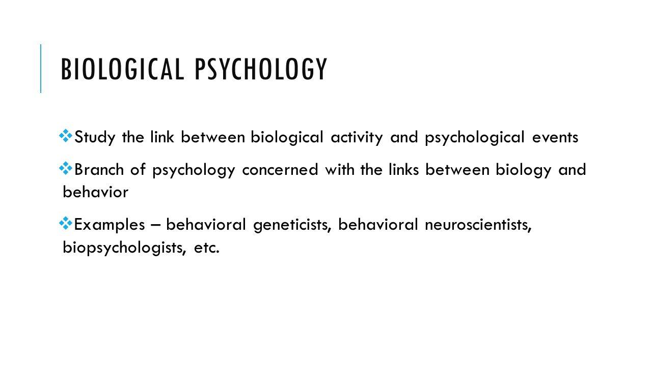 Biological Psychology | Simply Psychology