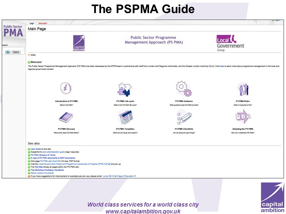 The PSPMA Guide