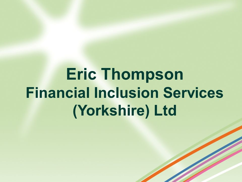Financial Inclusion Services (Yorkshire) Ltd