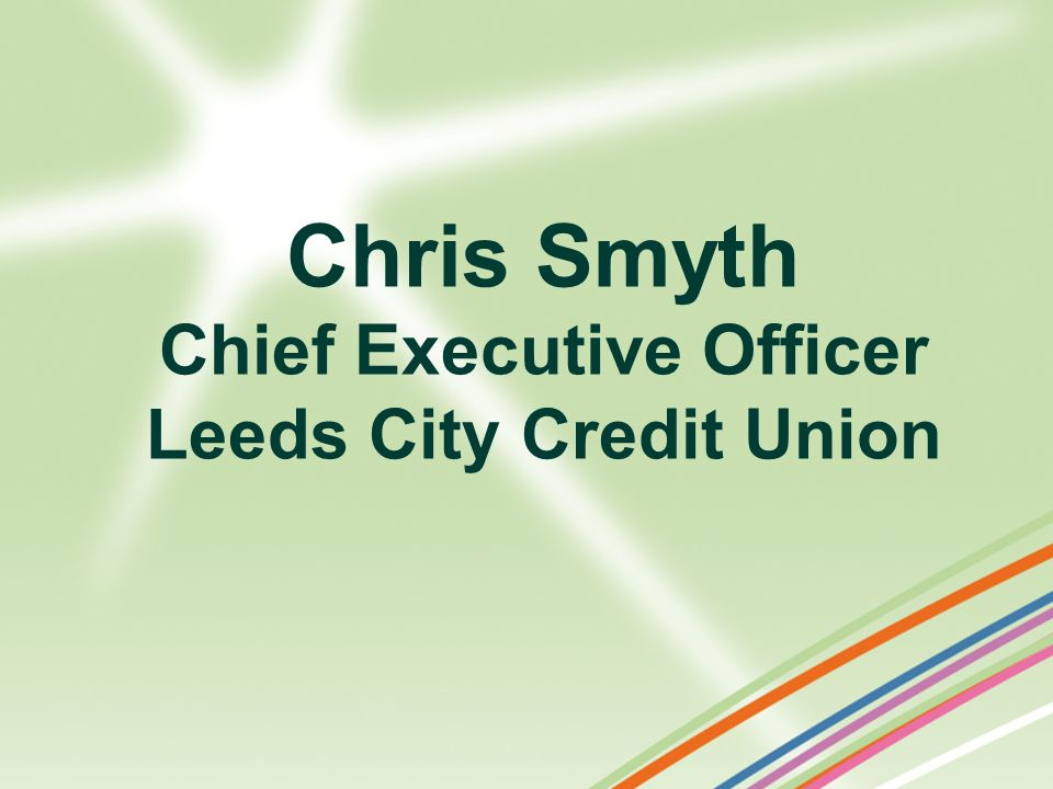 Chief Executive Officer Leeds City Credit Union