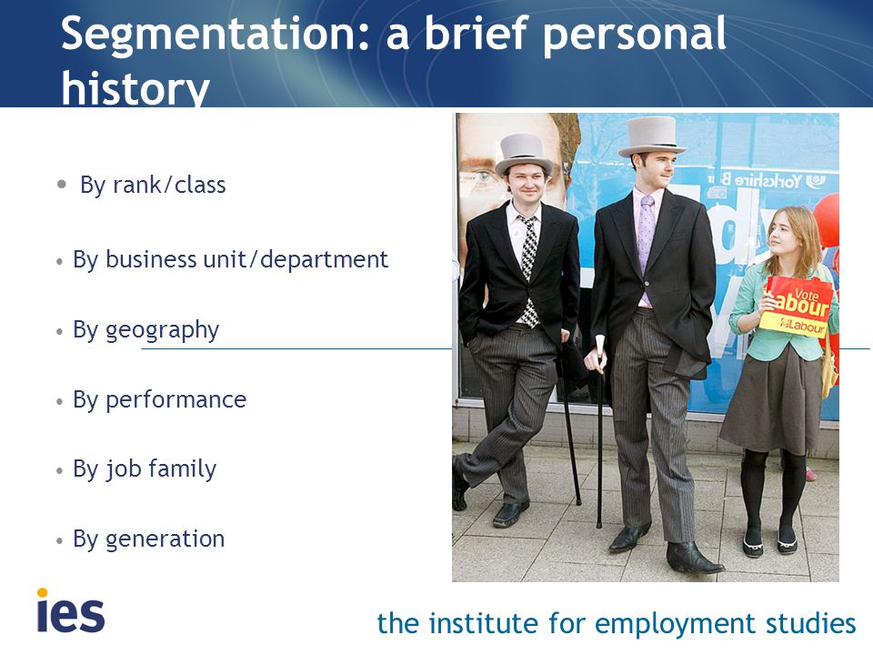 Segmentation: a brief personal history