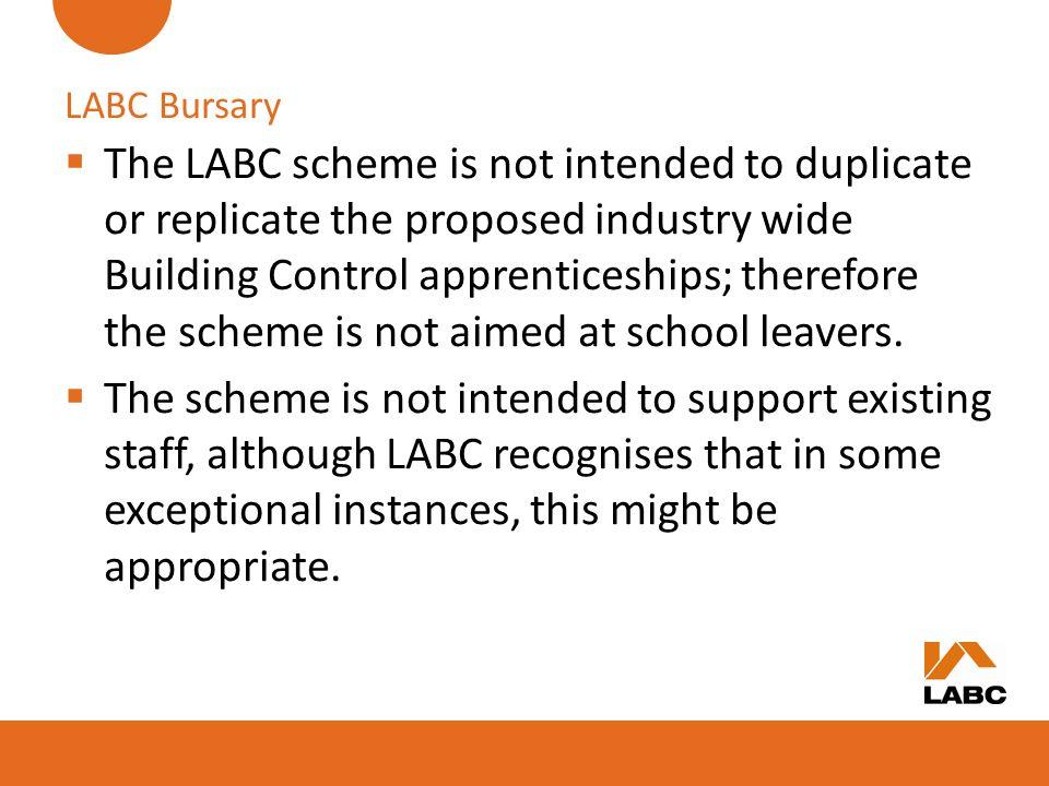 LABC Bursary