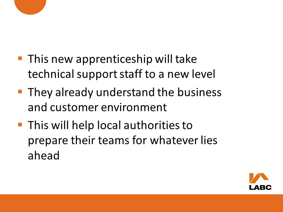 This new apprenticeship will take technical support staff to a new level
