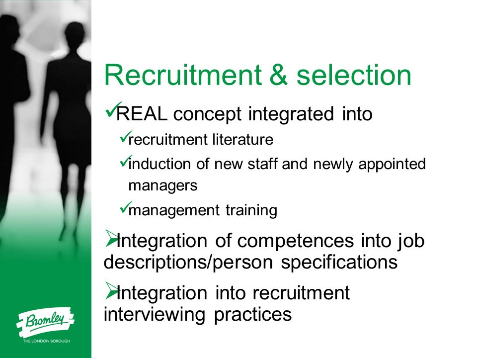 Recruitment & selection