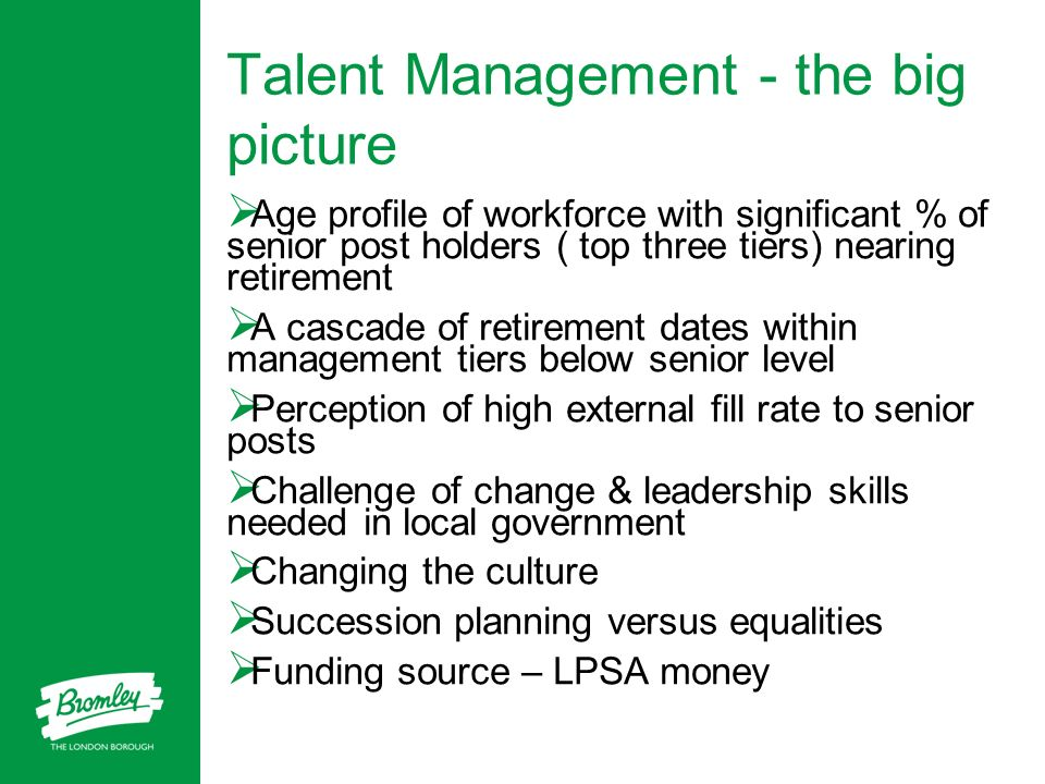 Talent Management - the big picture