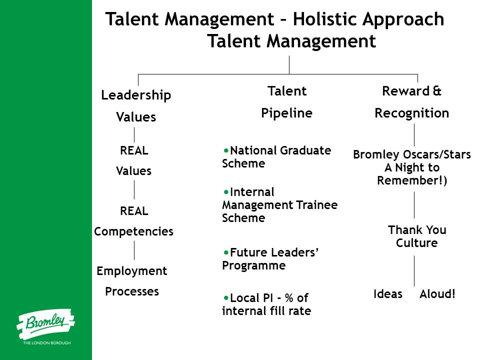 Talent Management – Holistic Approach