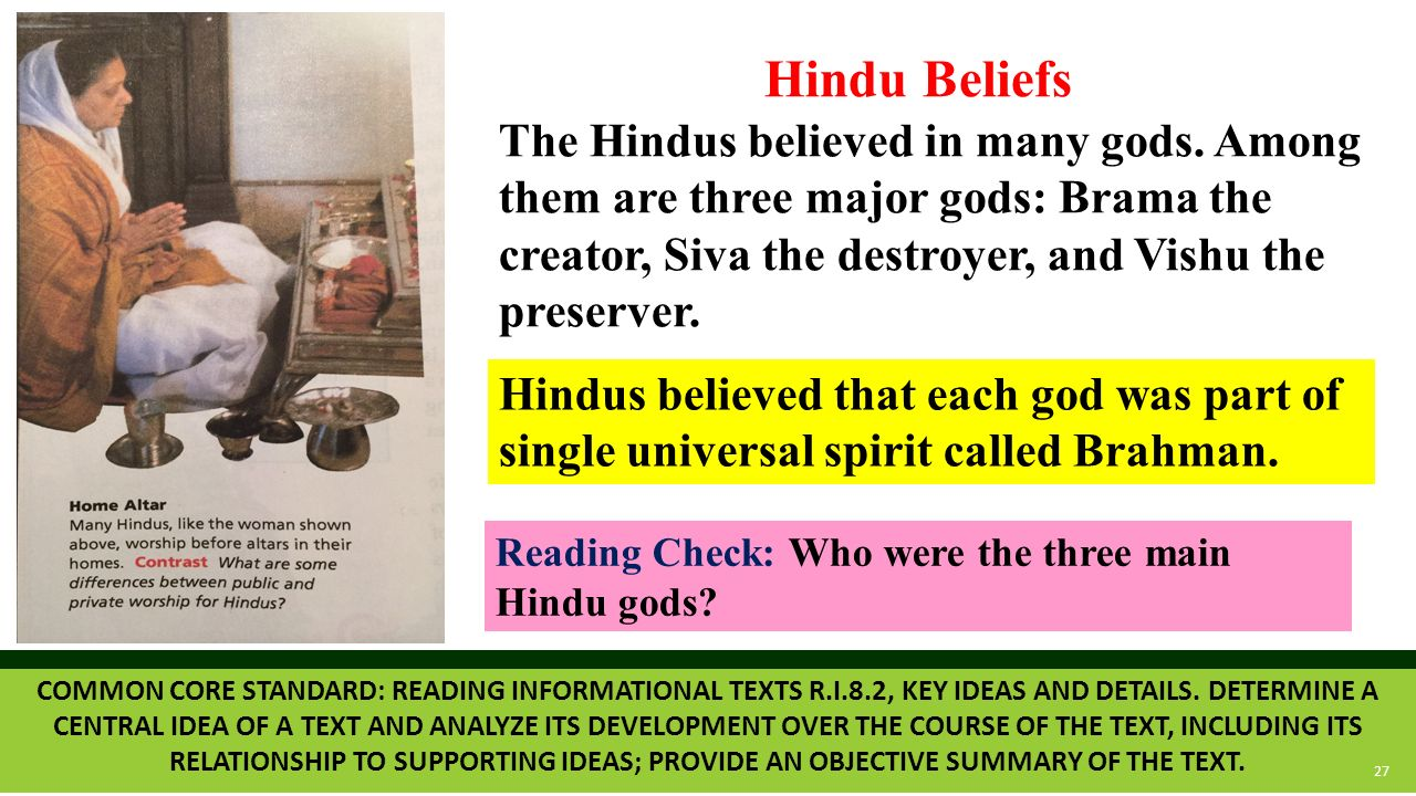 hindu singles in reading Based on a particular reading of the earliest upanishads, the vedanta  it is at  this point in the story that perhaps the single most popular hindu text and one of.