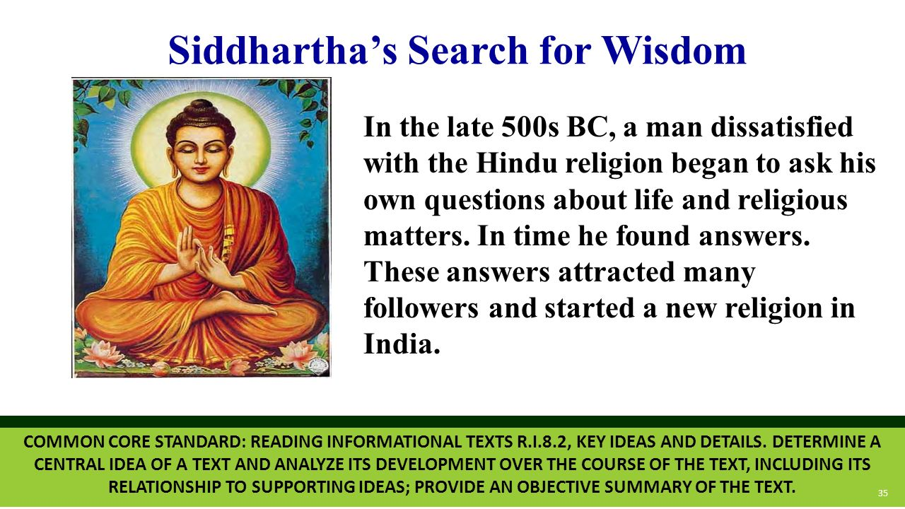 what is the relationship between knowledge and spirituality siddhartha