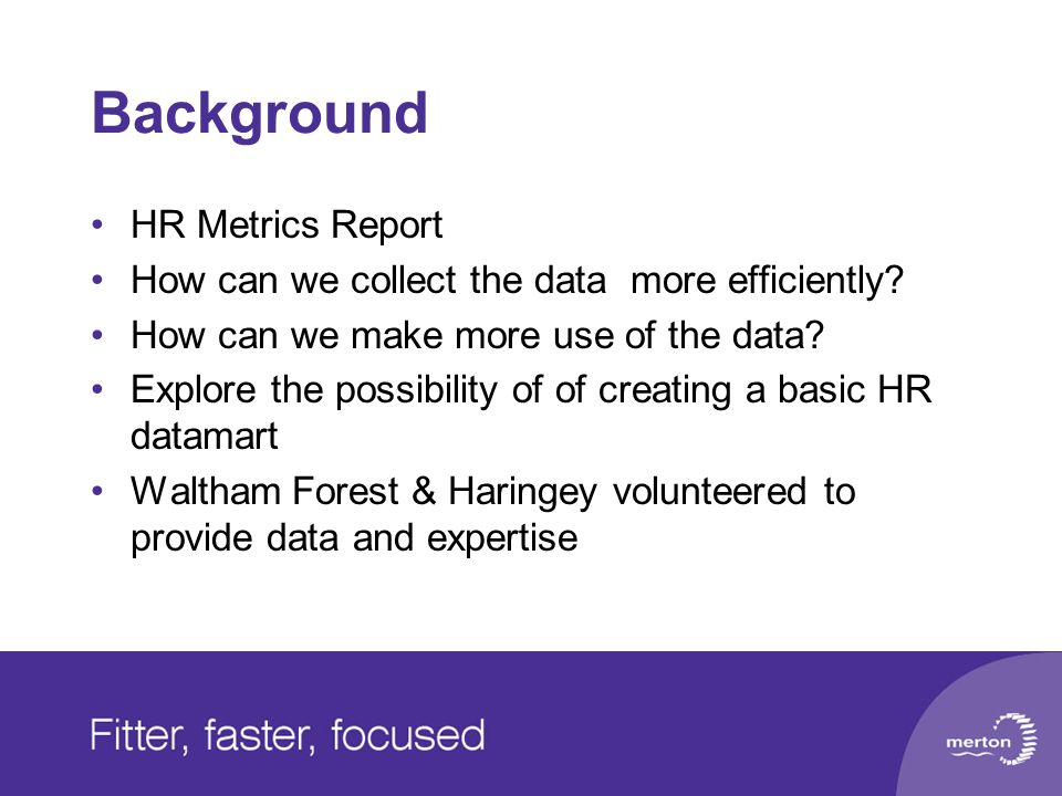 Background HR Metrics Report