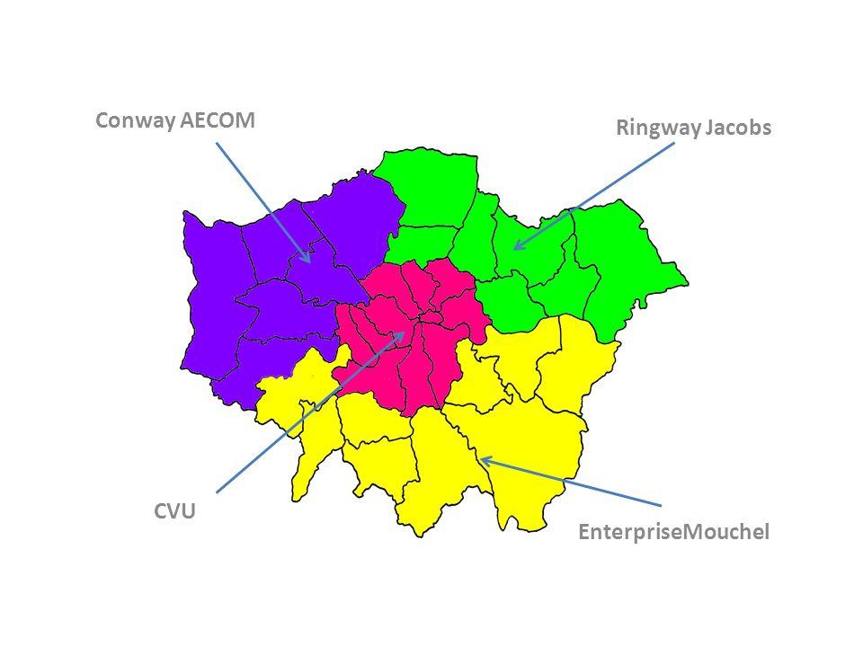 Conway AECOM Ringway Jacobs CVU EnterpriseMouchel