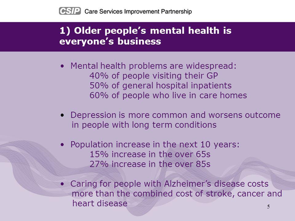 Older people's mental health is everyone's business