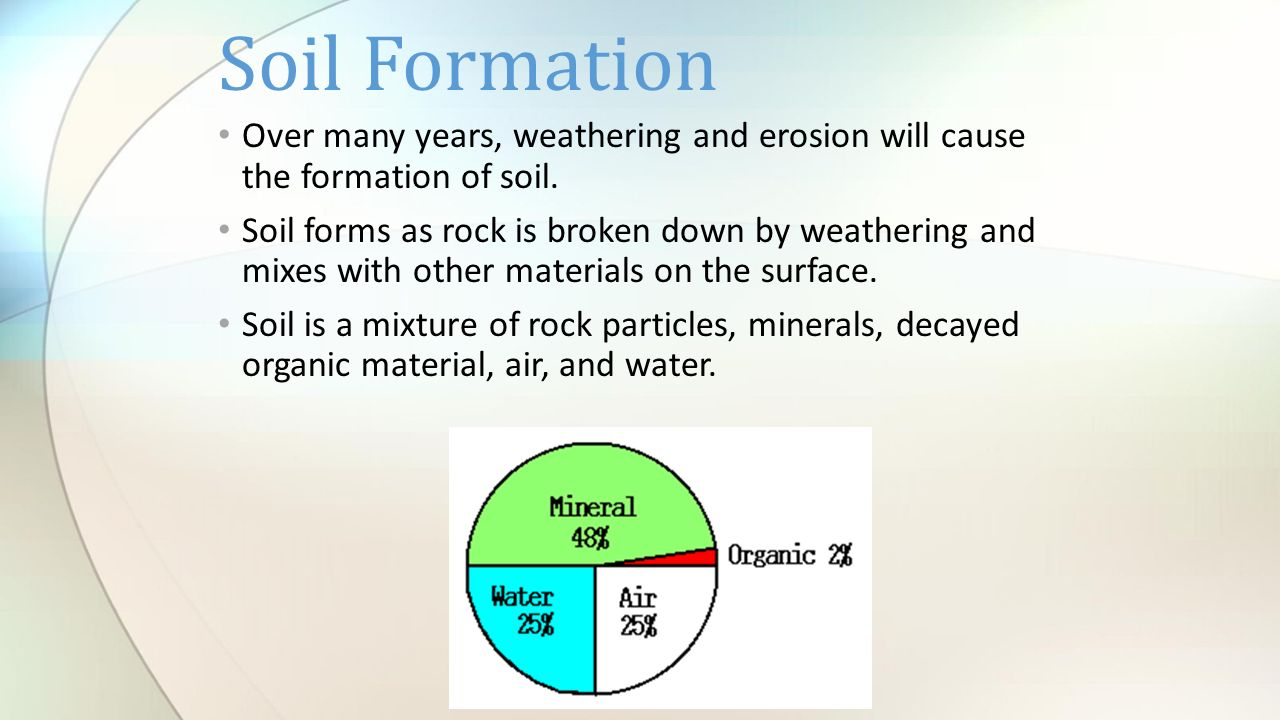 Soil soil formation and soil layers ppt video online for Soil 2 year pgdm