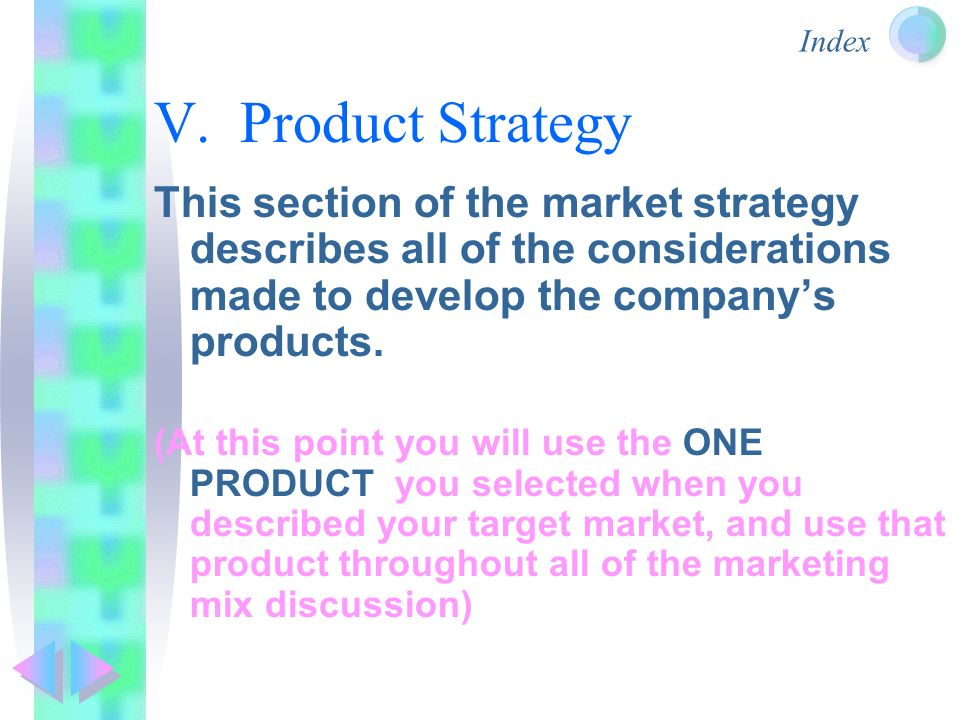 how to develop a product strategy