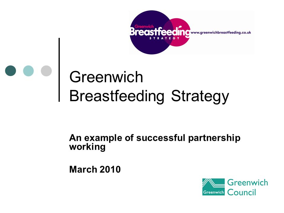Greenwich Breastfeeding Strategy