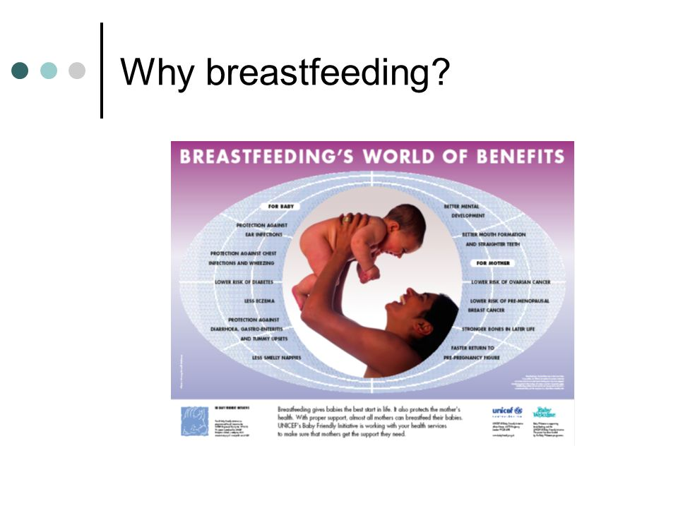Why breastfeeding