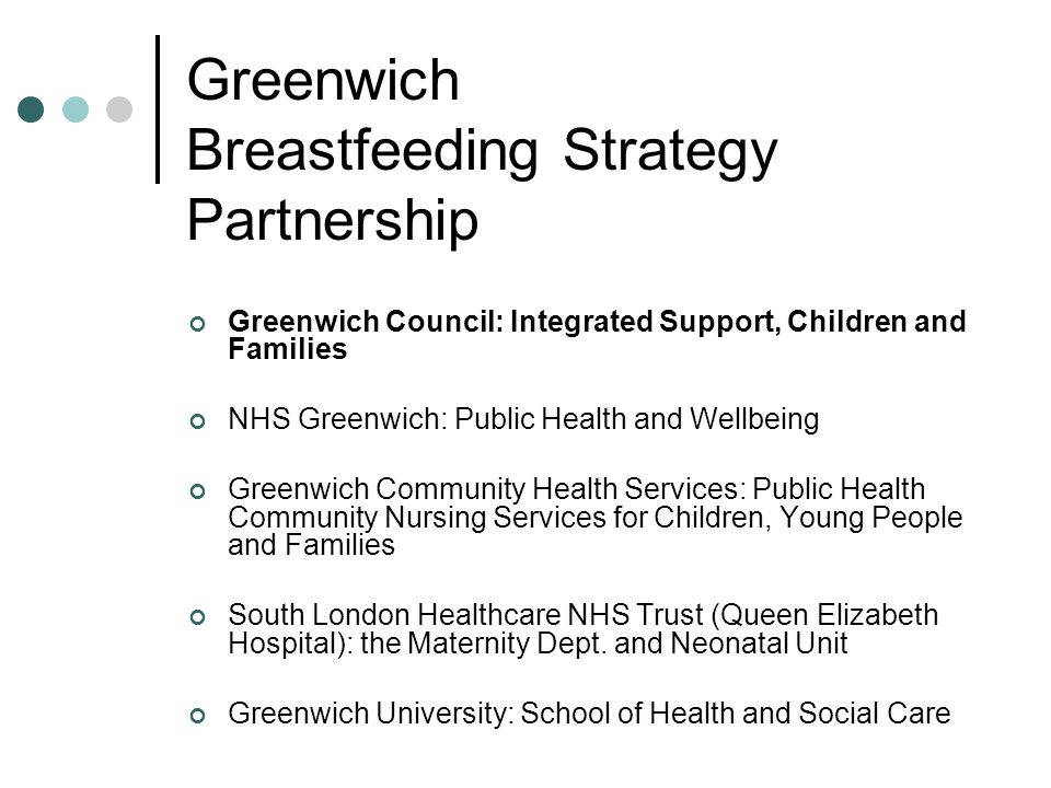 Greenwich Breastfeeding Strategy Partnership