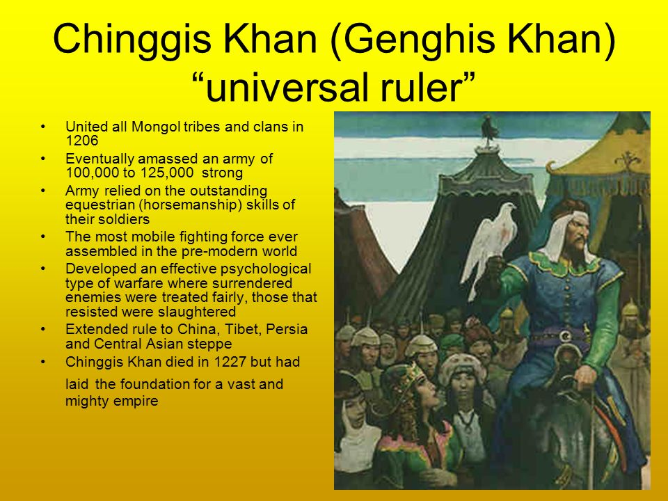 The 10 Most Important Accomplishments Of Genghis Khan
