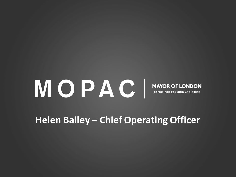 Helen Bailey – Chief Operating Officer