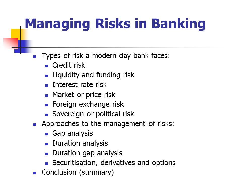 How Financial Firms Manage Risk
