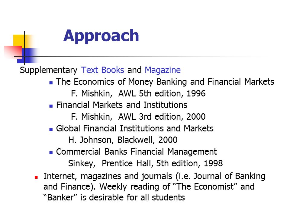 Money banking and global finance essay