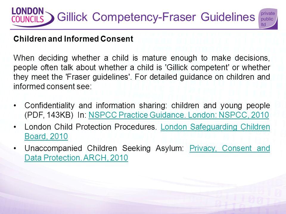 Gillick Competency-Fraser Guidelines