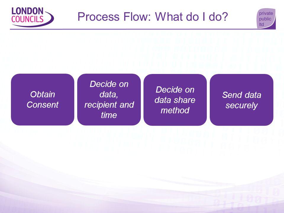 Process Flow: What do I do
