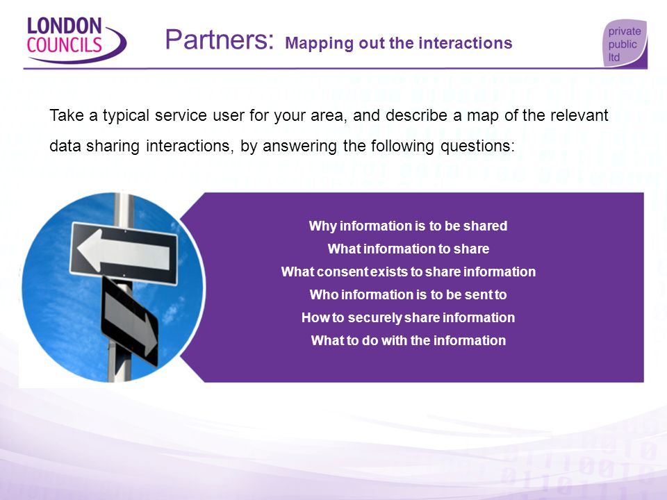 Partners: Mapping out the interactions