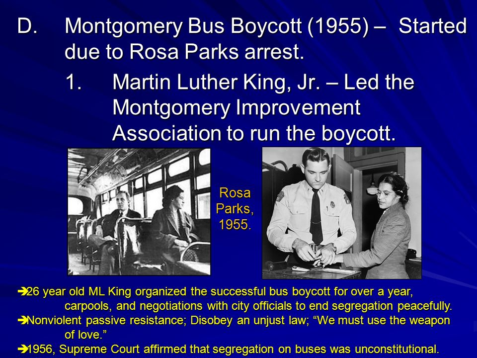 Martin luther king in montgomery improvement association