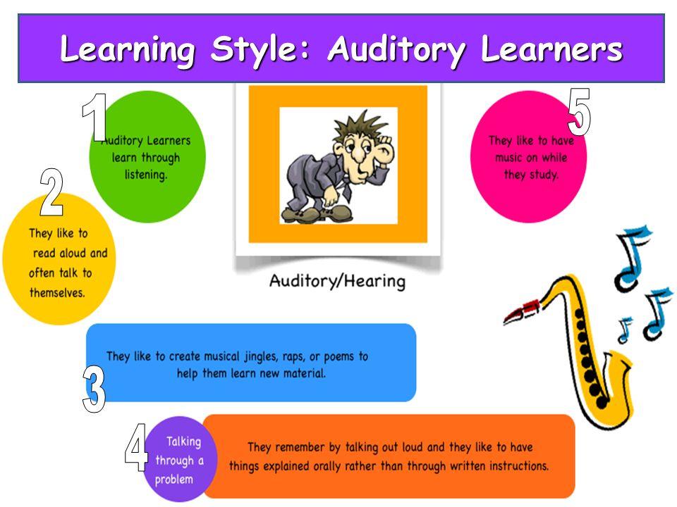 visual auditory kinesthetic learners pdf