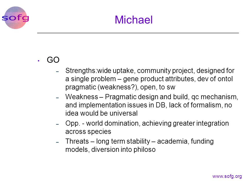 Michael GO.