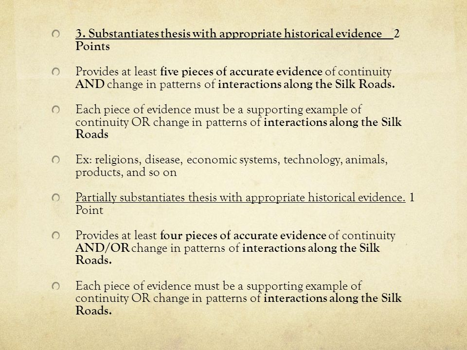 Silk Roads Changes And Continuities Essay – 717900