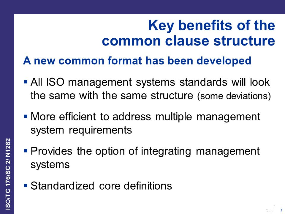 Key benefits of the common clause structure