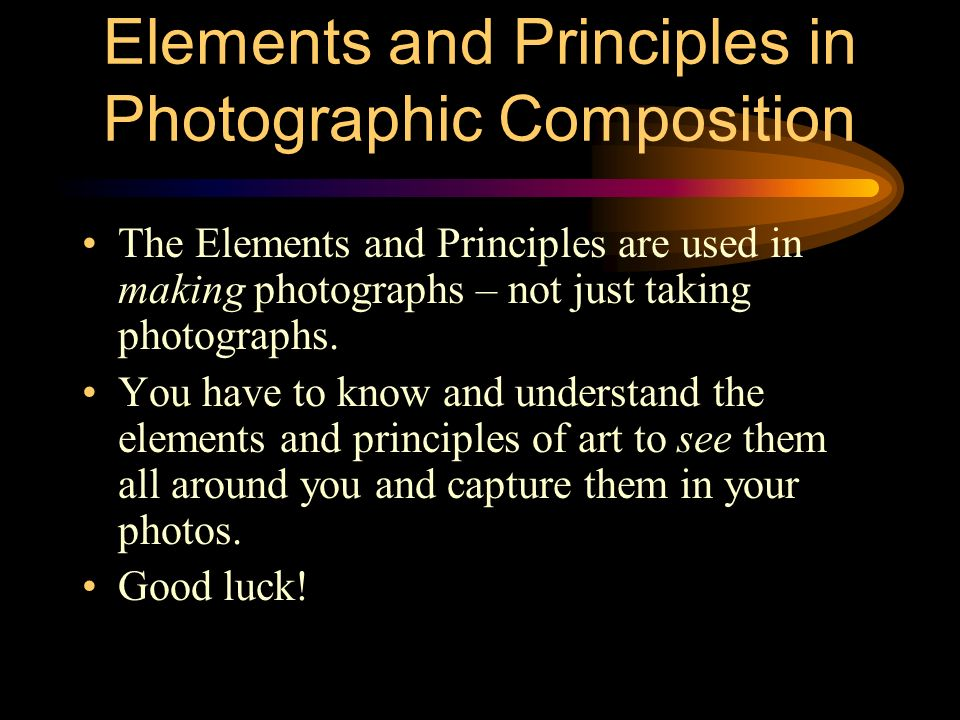 All Principles Of Art : Photography composition using the elements and principles