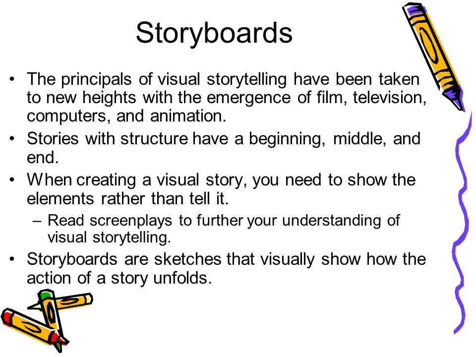 11 Storyboards The Principals Of Visual ...