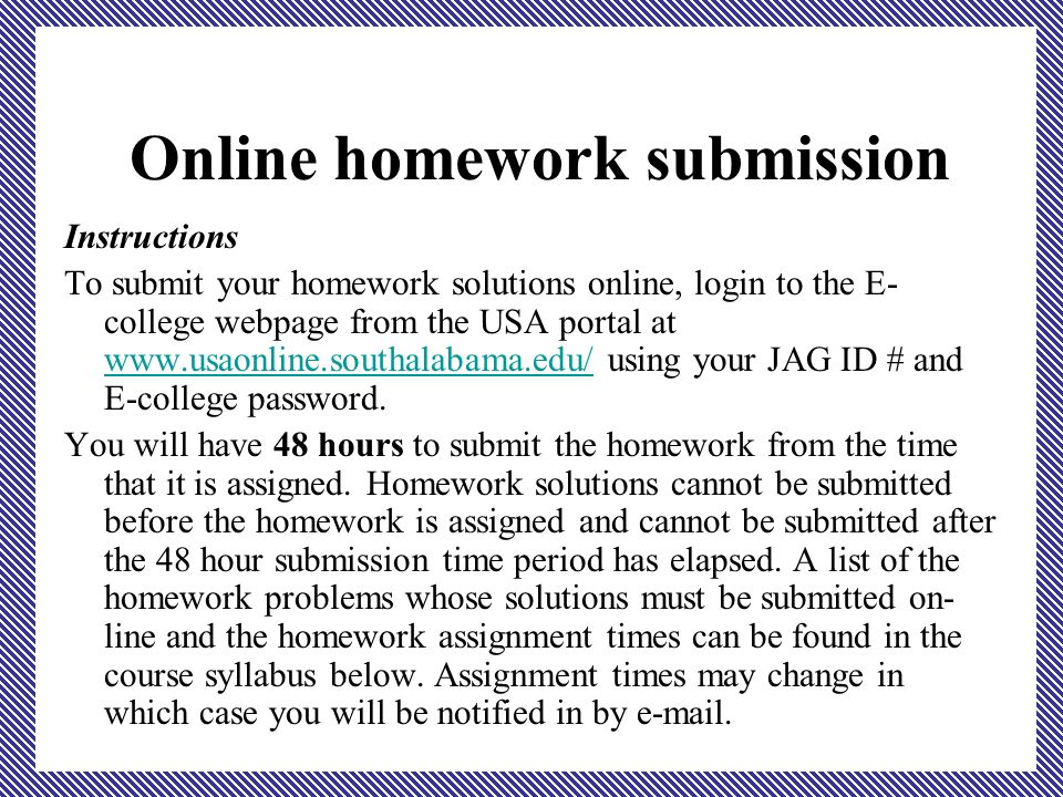 ma precalculus algebra dr ppt  online homework submission