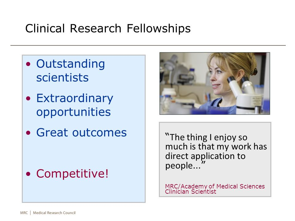 Clinical Research Fellowships