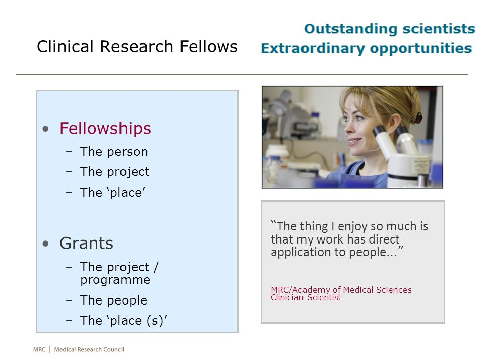 Clinical Research Fellows