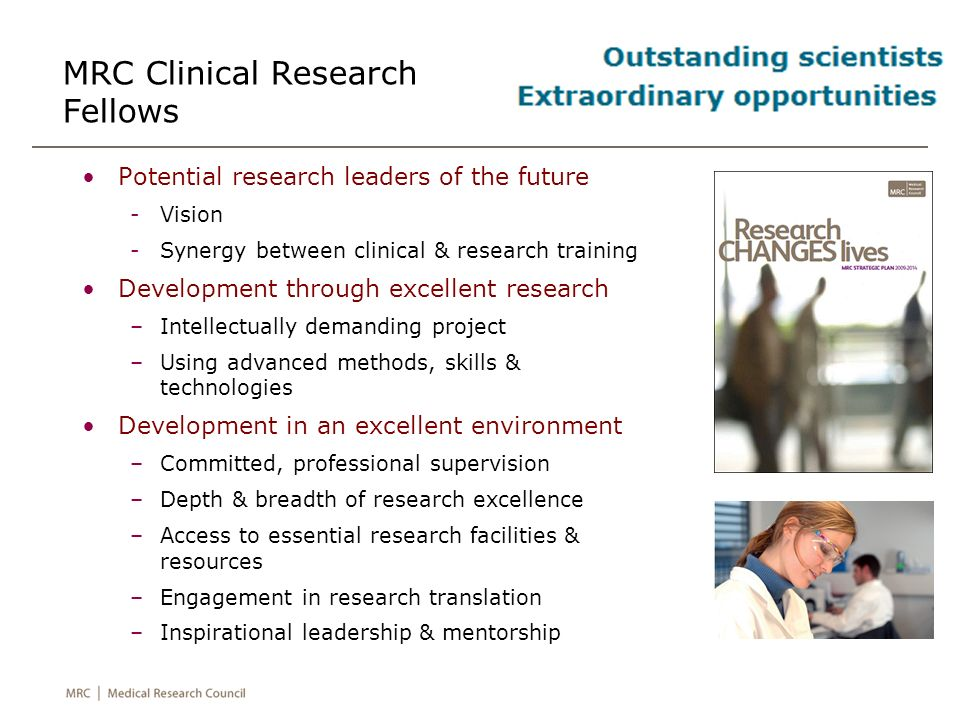 MRC Clinical Research Fellows
