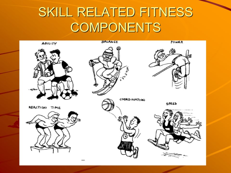SKILL RELATED FITNESS COMPONENTS