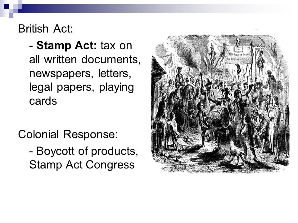 """stamp act congress essay Currently in the uk a transfer tax derived from the stamp duty, """"stamp duty land tax"""" (sdlt) taxes land transactions  stamp act 1765 - quartering act congress ."""