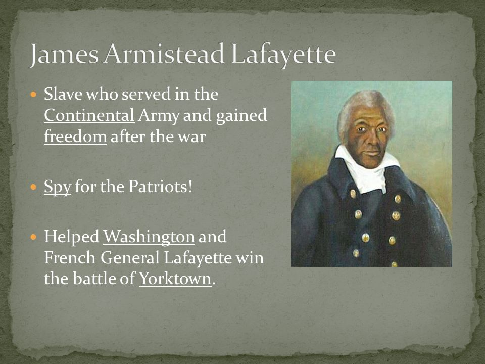 Revolutionary War VS5b By Miss O.. - ppt download Lafayette For Freedom